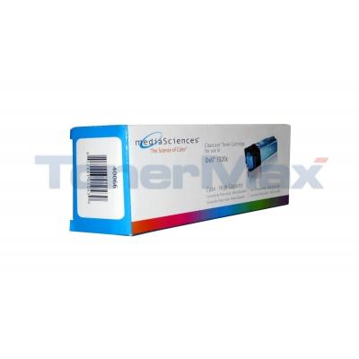 MEDIA SCIENCES TONER CARTRIDGE CYAN FOR DELL 1320C